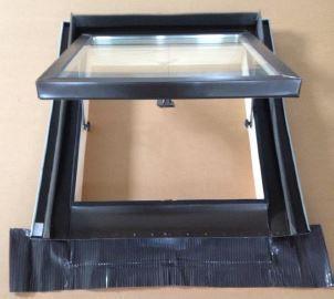 Lucernario Sirio Alluminio Testa di Moro