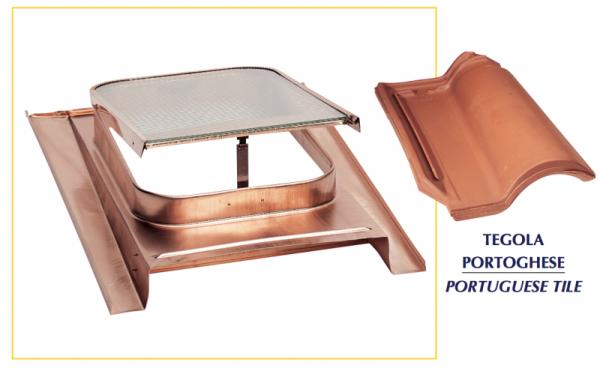 Lucernario standard clc srl componenti per lattoneria for Lucernari per tetti
